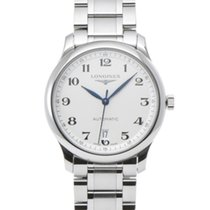 Longines Master Collection pre-owned 38.5mm Silver Steel