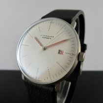 Junghans Steel Automatic Silver No numerals 38mm new max bill Automatic