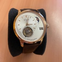 Glashütte Original PanoLunar Tourbillon Red gold 41mm Silver