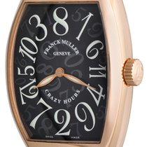 Franck Muller Crazy Hours Rose gold 32mm Black Arabic numerals United States of America, Texas, Dallas