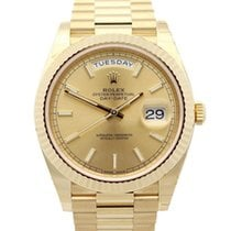 Rolex Day-Date 40 Or jaune 40mm Champagne