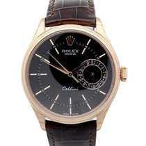 Rolex Cellini Date Ruzicasto zlato 39mm Crn