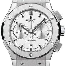 Hublot Classic Fusion Chronograph Titan Silber
