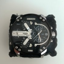 Diesel pre-owned Quartz 57mm Black