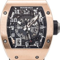 Richard Mille RM 010 Oro rosa 40mm Transparente