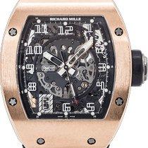 Richard Mille Roségull 40mm Automatisk RM 010 brukt