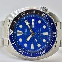 Seiko Prospex Aço 45mm Azul Sem números
