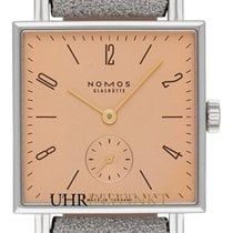 NOMOS Tetra 444 New Steel 29.5mm Manual winding