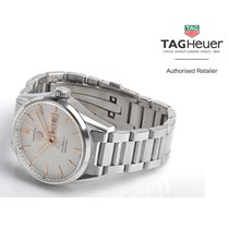 TAG Heuer Carrera Calibre 5 Steel 41mm White No numerals