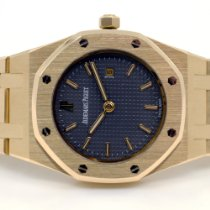 Audemars Piguet Yellow gold Quartz Grey No numerals 32mm new Royal Oak