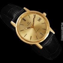 Omega Genève pre-owned 35mm Champagne Leather