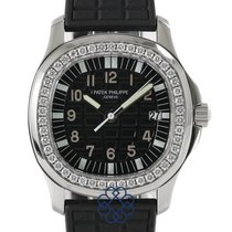 Patek Philippe Aquanaut Steel 35.6mm Black Arabic numerals