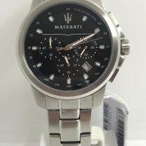 Maserati Steel 44mm Quartz R8873621001 new