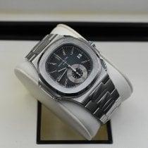 Patek Philippe Nautilus Steel 40.5mm Blue No numerals