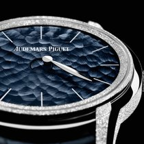 Audemars Piguet Millenary White gold 39.5mm Blue United States of America, New York, New York