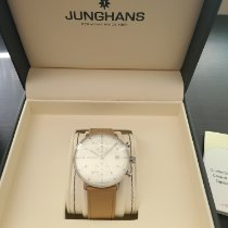 Junghans max bill Chronoscope Steel 40mm Silver No numerals United States of America, Washington, Seattle