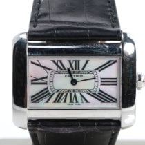 Cartier Tank Divan Steel 38mm Mother of pearl Roman numerals United States of America, Nevada, Las Vegas