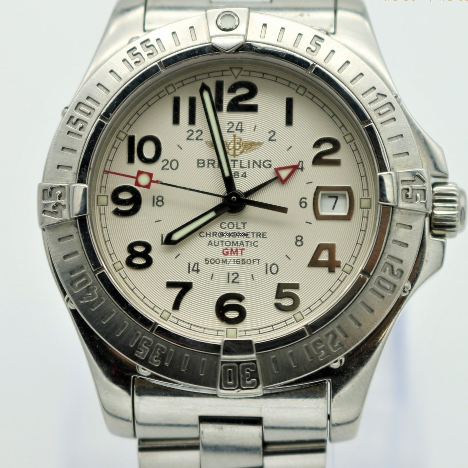 Breitling Colt GMT A32350 2010 pre-owned
