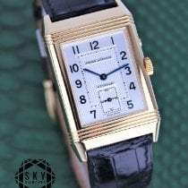 Jaeger-LeCoultre Reverso Duoface Yellow gold 26mm Silver Arabic numerals United States of America, New York, New York