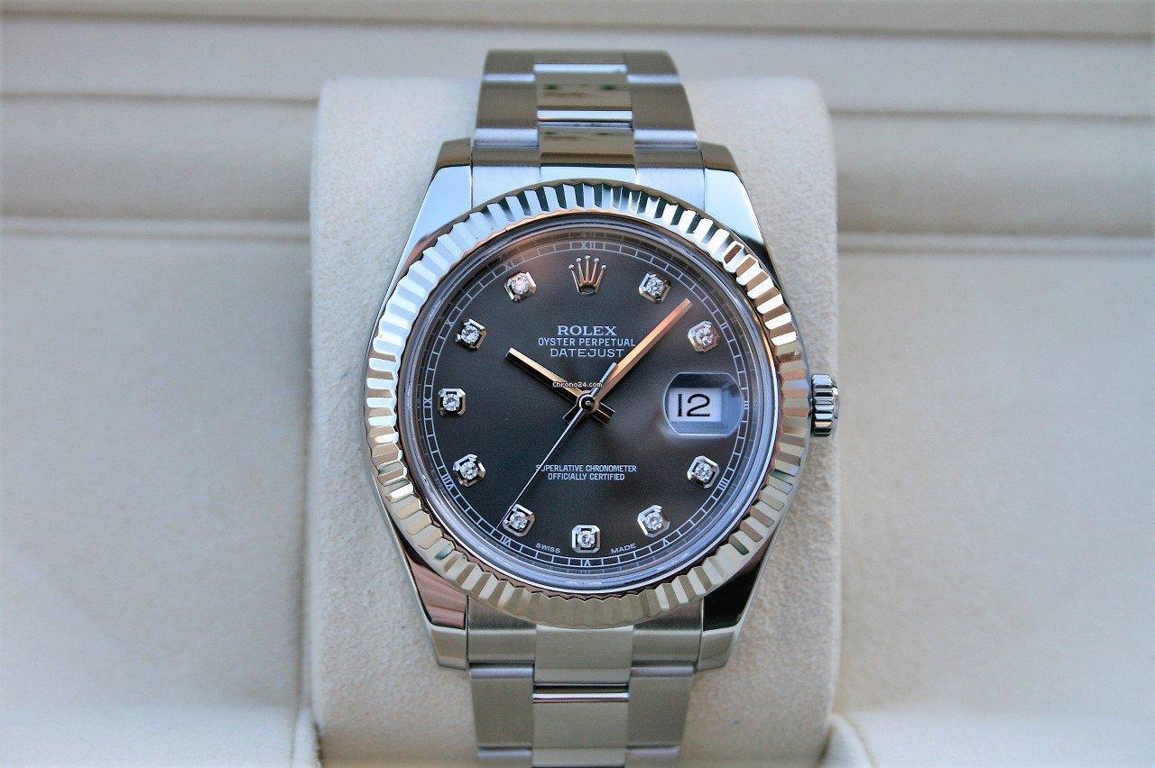 Rolex (ロレックス) デイトジャスト II 116334 新品
