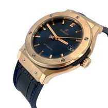 Hublot Classic Fusion Blue Rose gold 45mm Blue No numerals United States of America, New York, Greenvale