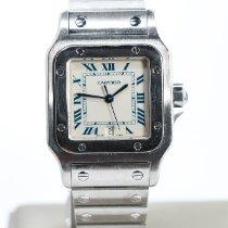 Cartier Santos Galbée Steel 29mm White Roman numerals United States of America, Nevada, Las Vegas