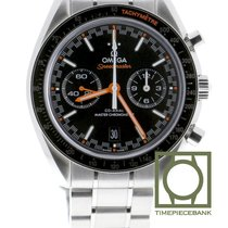 Omega Speedmaster Racing pre-owned 44.2mm Black Chronograph Date Tachymeter Steel