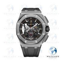 Audemars Piguet Royal Oak Offshore Tourbillon Chronograph new 2018 Manual winding Watch with original box and original papers 26407TI.GG.A002CA.01
