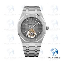 Audemars Piguet Royal Oak Tourbillon Platinum 41mm Grey