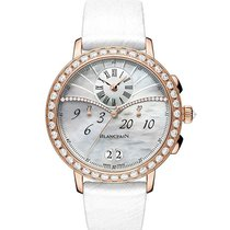 Blancpain Women Rose gold 38.6mm Mother of pearl Roman numerals