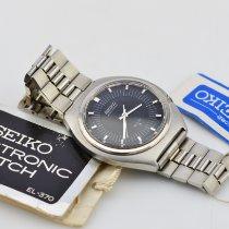 Seiko pre-owned Quartz 39mm Black Plastic 3 ATM