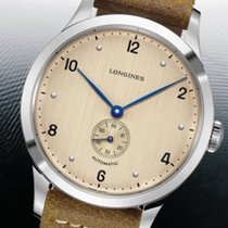 Longines Titanium Automatic Champagne Arabic numerals 40mm pre-owned Heritage