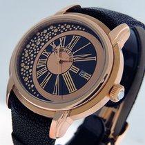 Audemars Piguet Rose gold Automatic Black Roman numerals 45mm pre-owned Millenary