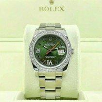 Rolex Datejust Turn-O-Graph new 2003 Automatic Watch with original box 116264