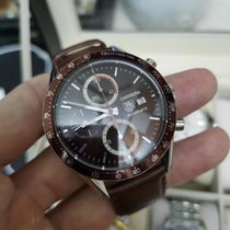 TAG Heuer Carrera Calibre 16 Steel 41mm Brown No numerals Malaysia, Malaysia
