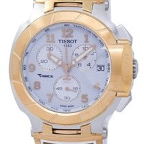 Tissot T-Race T048.417.27.012.00 New Gold/Steel 45.3mm Quartz Singapore, Singapore