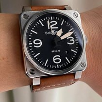 Bell & Ross BR 03 BR03-92-S Very good Steel 42mm Automatic Malaysia, Malaysia
