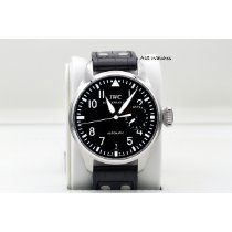 IWC Black 46.2mm pre-owned Big Pilot