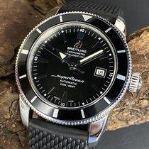 Breitling Superocean Héritage 42 Stahl 42mm Schwarz