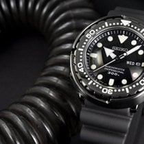 Seiko Marinemaster Сталь Чёрный