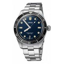 Oris Divers Sixty Five Steel 40mm Blue No numerals