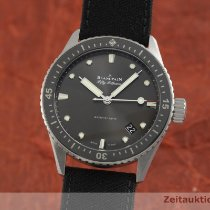 Blancpain Fifty Fathoms Bathyscaphe Acier 43mm Gris