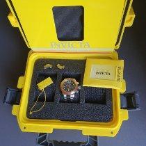 Invicta Staal 52mm Quartz MODEL 18585 nieuw