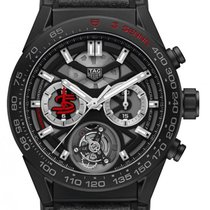 TAG Heuer Carrera Heuer-02T Stahl 45mm Transparent