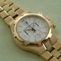 Vacheron Constantin Overseas Chronograph Oro amarillo 41mm Plata