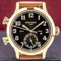 Patek Philippe Travel Time Rose gold 7234mm Brown Arabic numerals United States of America, Massachusetts, Boston
