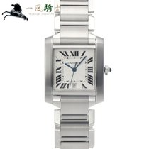 Cartier Tank Française W51002Q3 Good Steel 32mm Automatic