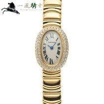Cartier Baignoire Żółte złoto 25mm Srebrny