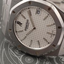 Audemars Piguet Royal Oak Jumbo Acier 40mm Blanc