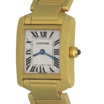 Cartier W50002N2 Yellow gold Tank Française 20mm pre-owned United States of America, Texas, Dallas